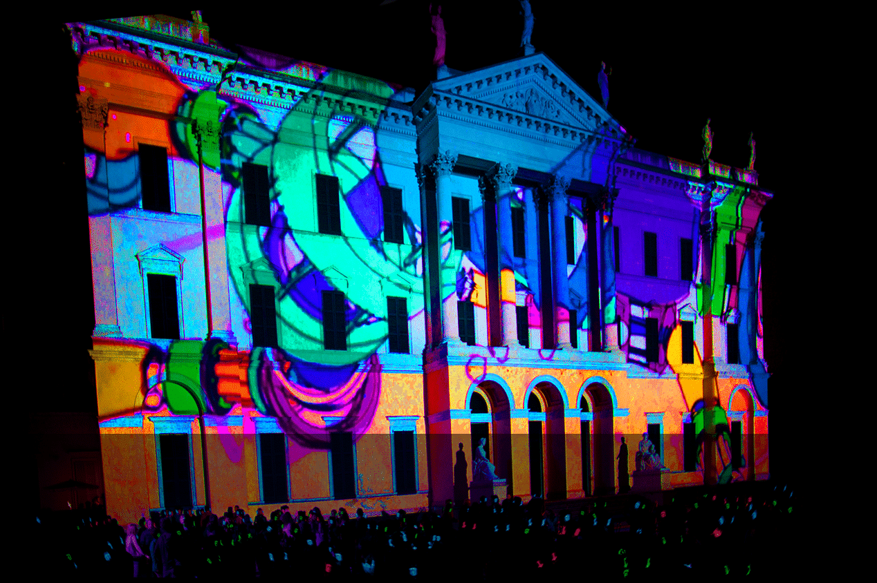 Video Mapping Silentdisco